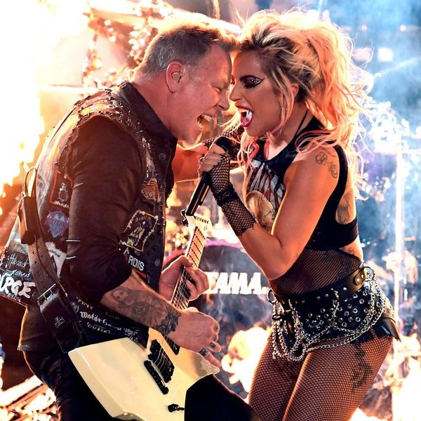 Here's How Lady Gaga's Metallica Collab Stacked Up Against Her Super Bowl Performance