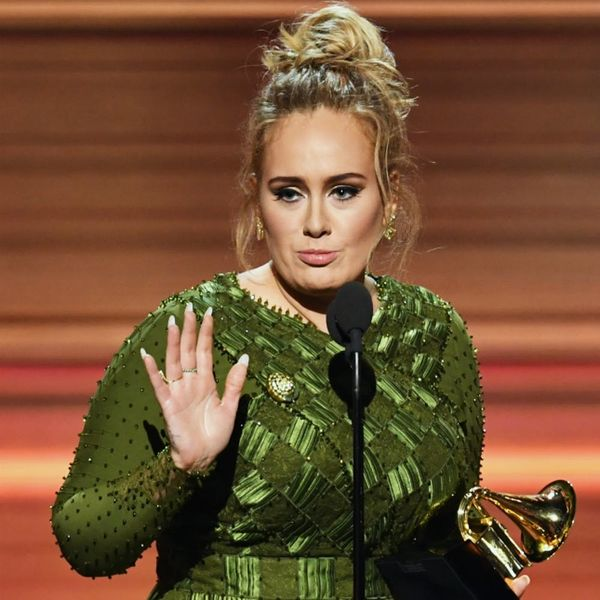 Adele's Grammy Acceptance Speech Moved Everyone (Including Beyoncé) to Tears