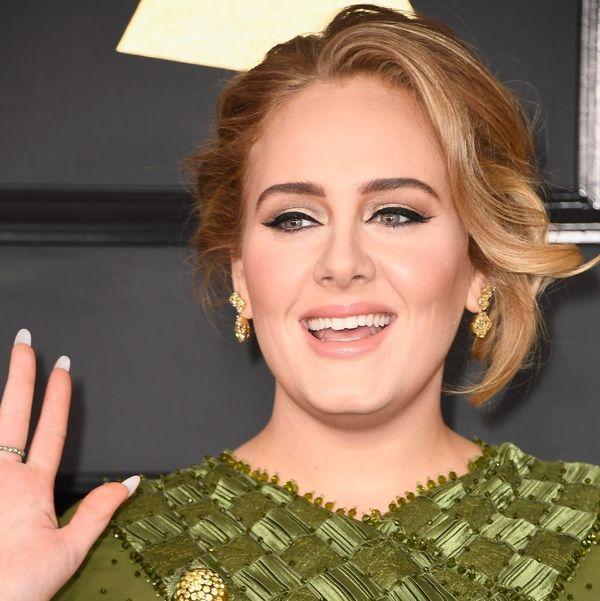 Adele's Grammys Dress Featured a Hidden Beyoncé Tribute