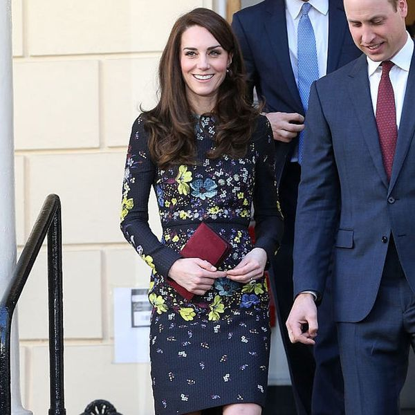 10 Duchess Kate-Worthy Winter Floral Dresses to Wear Now