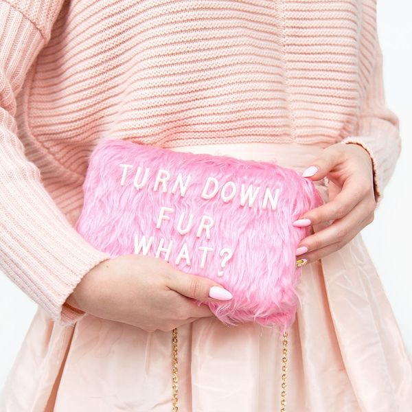 This Faux Fur Clutch Is Your New Weekend Essential, Plus More Must-Try DIYs