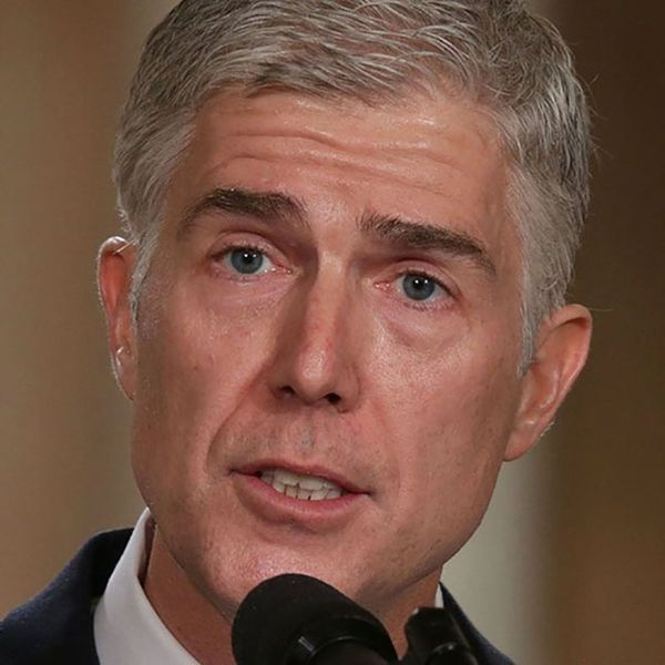 Supreme Court Nominee Neil Gorsuch Just Spoke Out Against President Trump