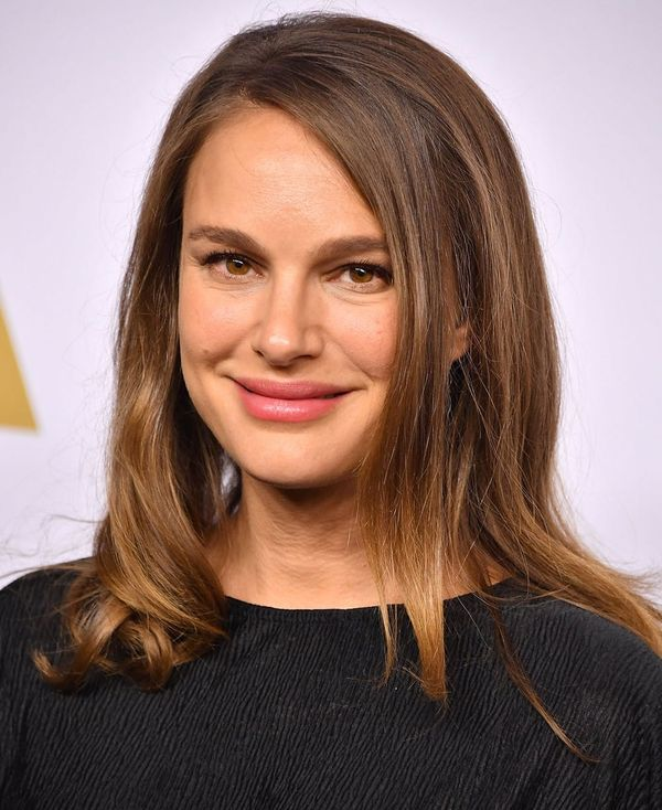 Natalie Portman's Maternity LBD Is One You Can Actually Afford