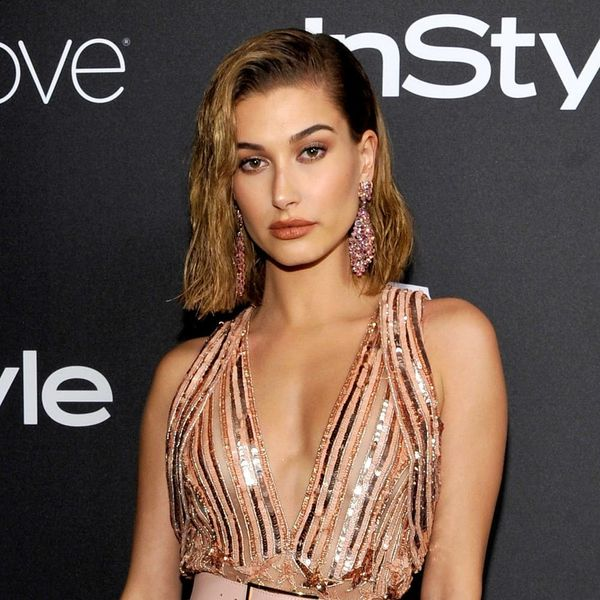 Hailey Baldwin Showed Us How to Wear Sneakers to a Wedding