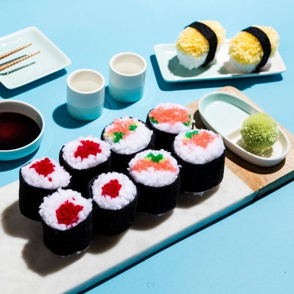 DIY a Sushi Pom-Pom Dinner for Two