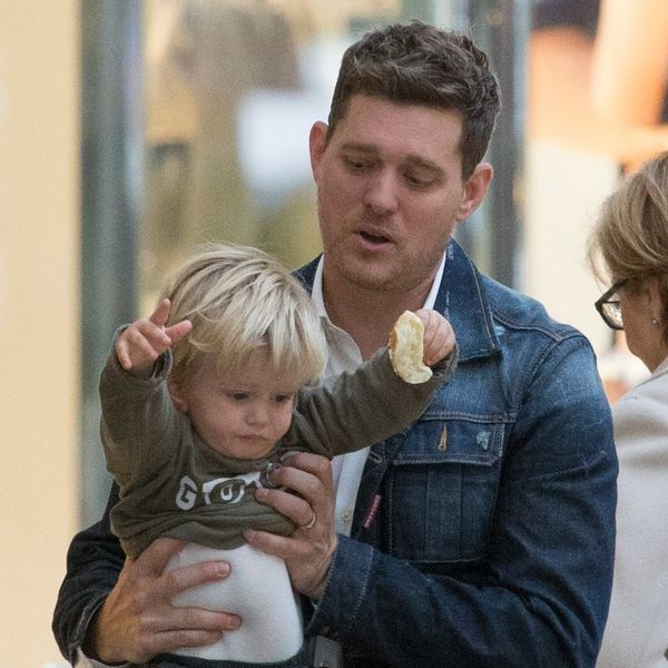 Michael Bublé Gives an Update on His Three-Year-Old Son's Cancer Treatment Progress
