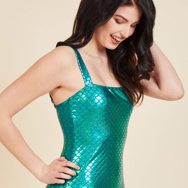 ModCloth's Oceanic Enchantress Swimsuit Will Transform You into an IRL Mermaid