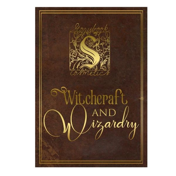 All the Details on Storybook's New Witchcraft + Wizardry Eyeshadow Palette