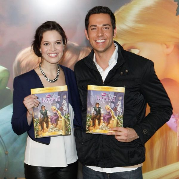 Tangled's Mandy Moore and Zachary Levi Announce the Sequel AND Series Release Dates