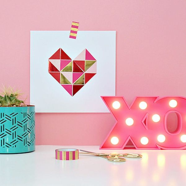 25 Valentine's Day Wall Art Ideas You'll Want to Leave Up All Year Long