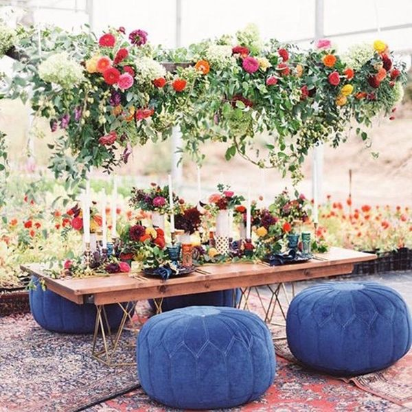 15 Floral Chandeliers That Will Make Your Wedding Pop