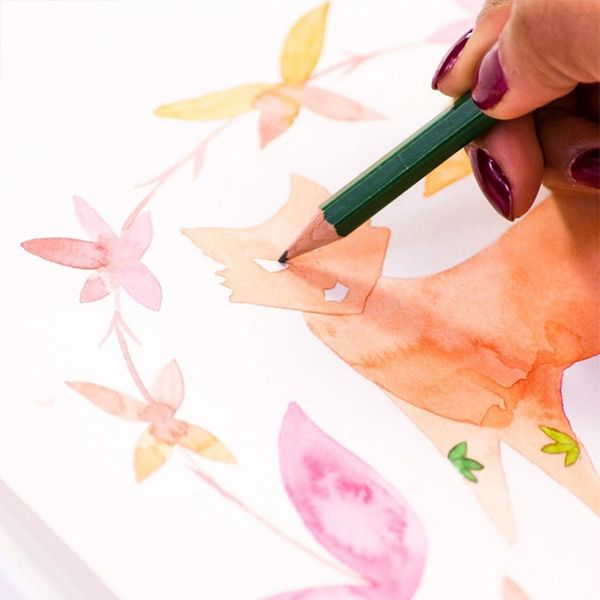 Motivational Monday: Get Sketching + Painting This Year (+ Get 20% Off Illustration Classes!)