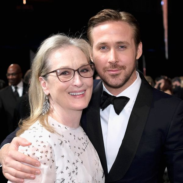 Ryan Gosling Was Totally Mom'd by Meryl Streep at the SAG Awards
