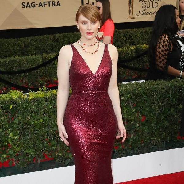 You'll Never Guess How Affordable Bryce Dallas Howard's SAG Awards Dress Was