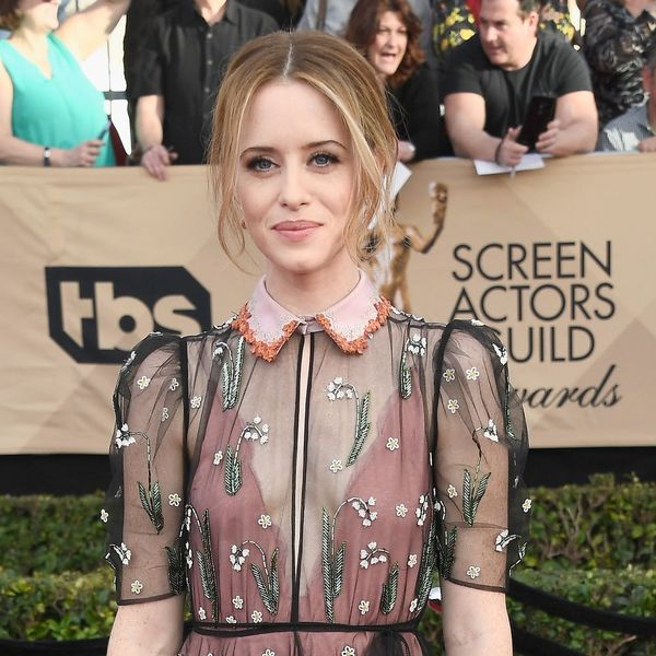 Here's How to Copy Claire Foy's Twisty Chignon Hairstyle