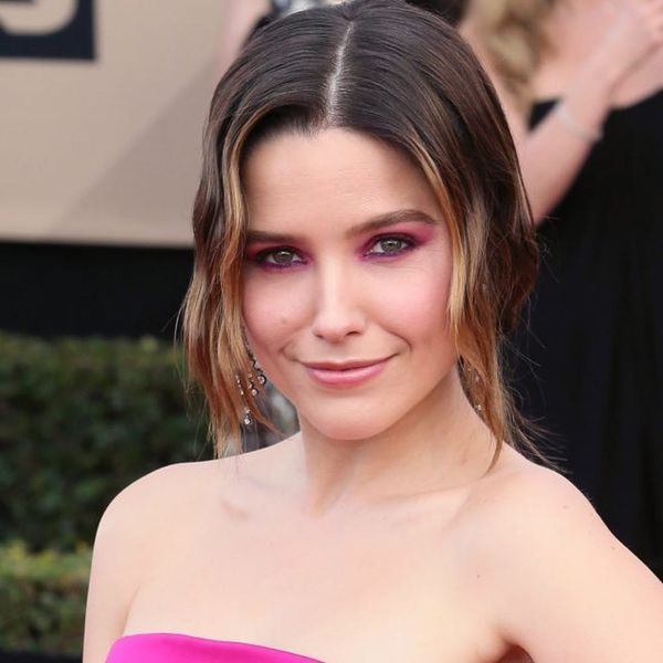 Sophia Bush's Pink Eye Makeup Came Courtesy of Lipstick and Blush (Really!)