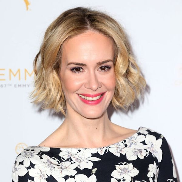Sarah Paulson Debuted a Brand New Hair Color at the SAG Awards