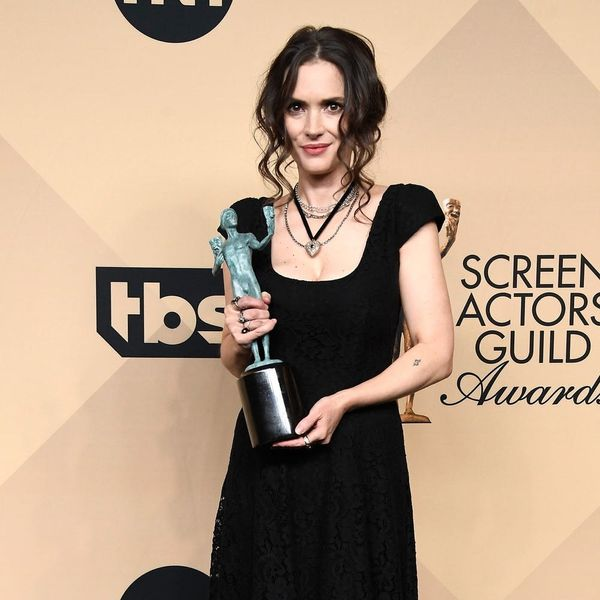 The Many Faces of Winona Ryder During David Harbour's SAG Awards Speech Will Make You LOL