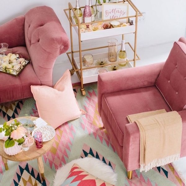 Lulu and Georgia's Glam Living Room Collection Is #GOALS for Your Galentine's Night in (and Beyond)