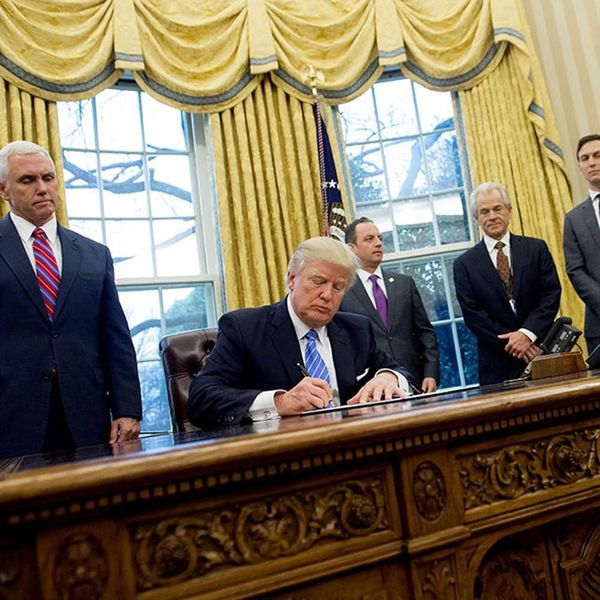 Here Are 5 Important Changes Trump Made During His First Week in Office
