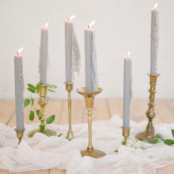 12 Wedding Candle Decor Ideas Worth Melting Over