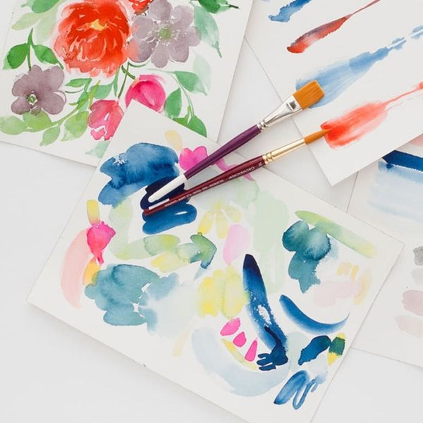 Here's How You Can Learn to Paint With Watercolors in Just One Hour