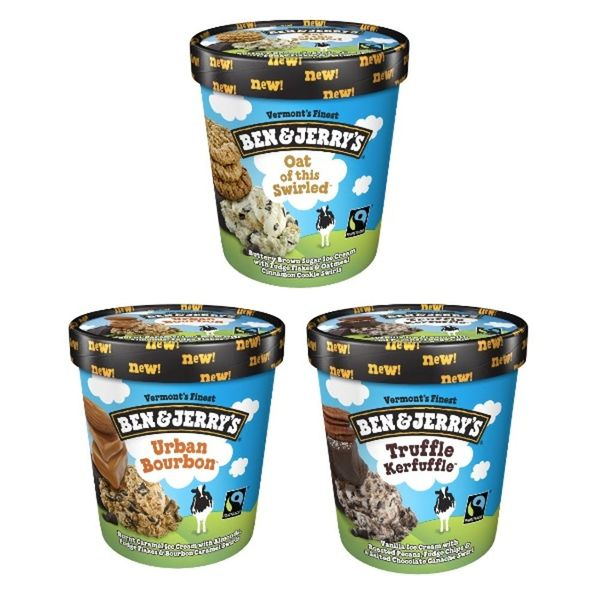 Ben & Jerry's Is Introducing Three New Yummy Flavors