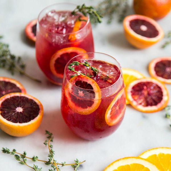 18 Times Blood Orange Cocktail Recipes Chased Our Winter Blues Away