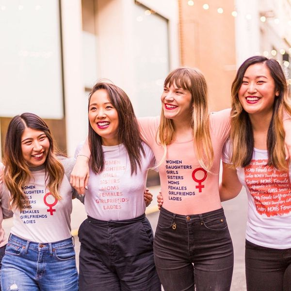 Show Your Support for the Women's March With Our Free Printable #DIY Tee
