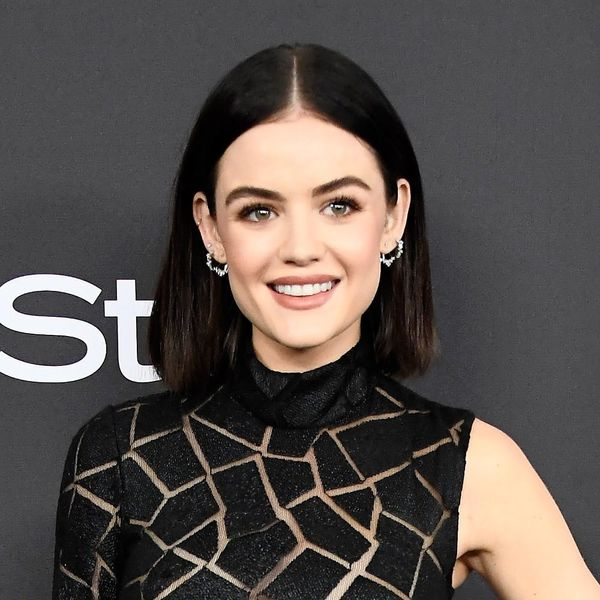 """Lucy Hale Just Made a Comment About Her """"Baby Hair"""" and Folks Aren't Having It"""