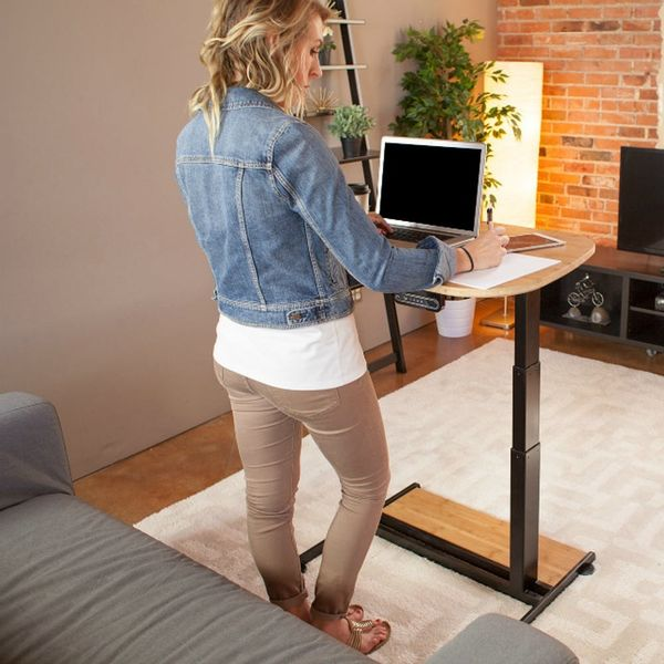 This Adjustable Standing Desk May Be the Only Table a Small Space Dweller Needs