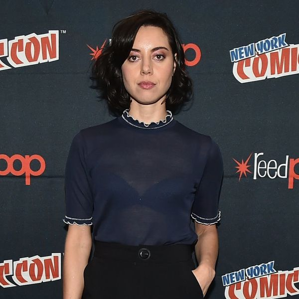 Aubrey Plaza's New Hair Color Is the Complete Opposite of Her Parks and Rec Character