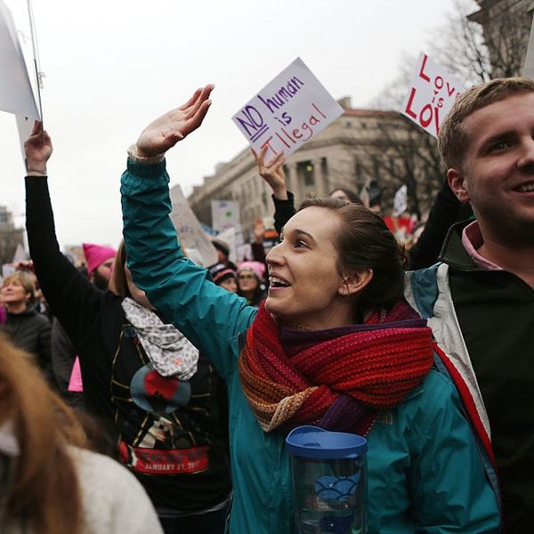 The Women's March on Washington Saw Zero Arrests and Our Hearts Are Singing