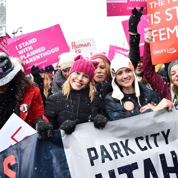 Here's How Your Fave Celebs Are Backing the Women's March