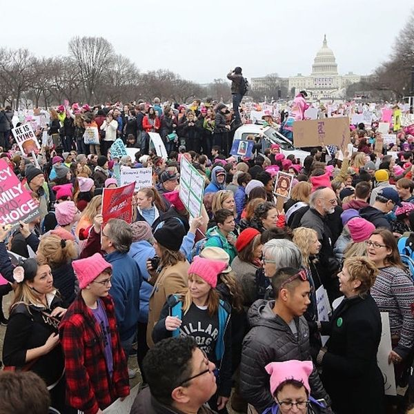 The Women's March on Washington Just Made History As the Largest Inaugural Protest Ever