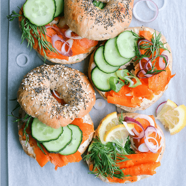 15 Thrilling Ways to Jazz Up Your *Brunch* Bagels This Weekend