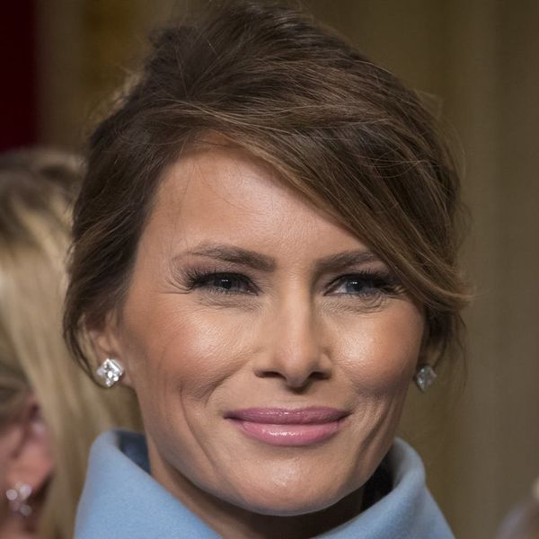 Melania Trump Helped Design Her Own Gown for Last Night's Inaugural Ball