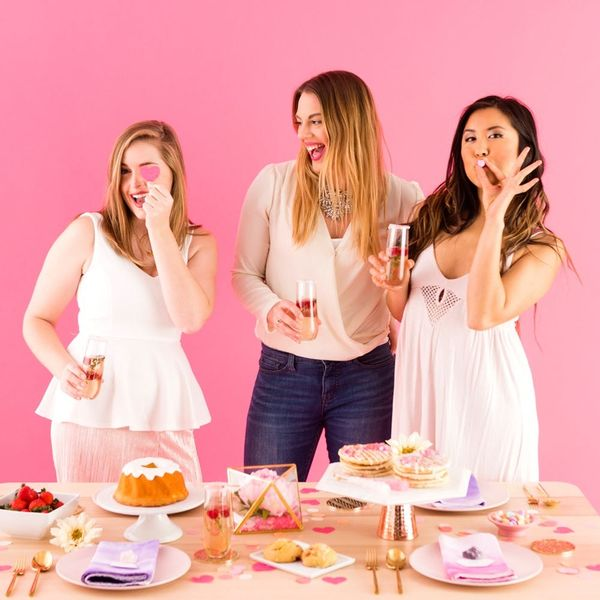Show Your Gang Some Major Love With This Galentine's Gem-Inspired Brunch