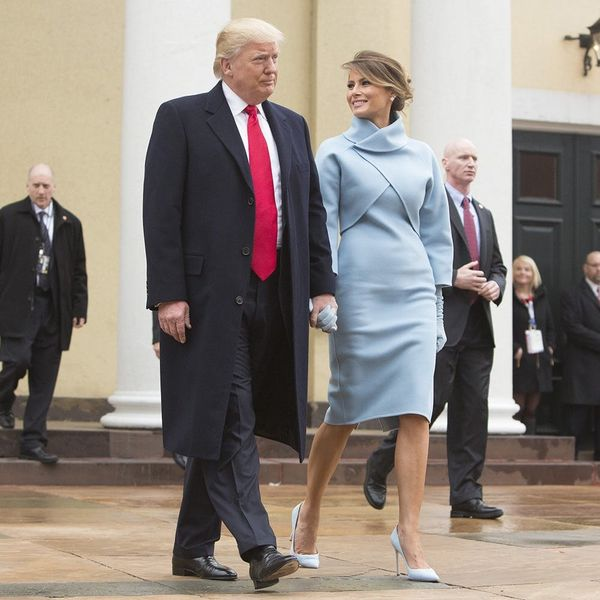 Melania Trump's Inauguration Day Outfit Sparks Comparisons to This Former First Lady