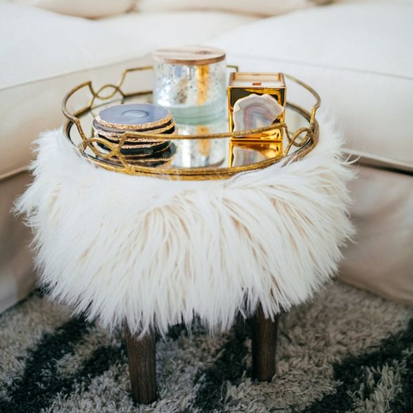 16 Times the Faux Fur Furniture Trend Made Us Swoon