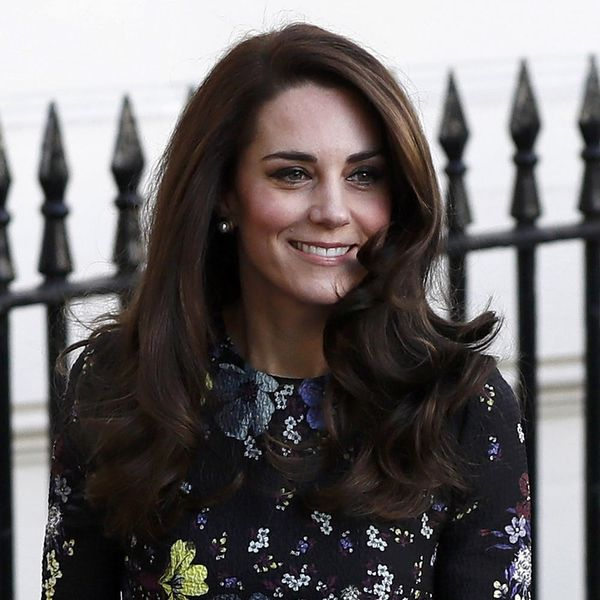 Kate Middleton Doesn't Get Flat Winter Hair Like the Rest of Us