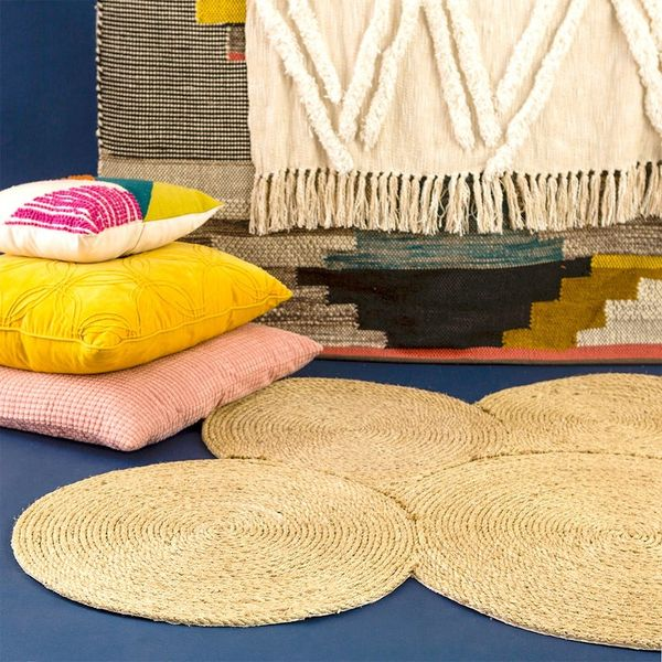 Make This Rope Rug With Only Three Materials