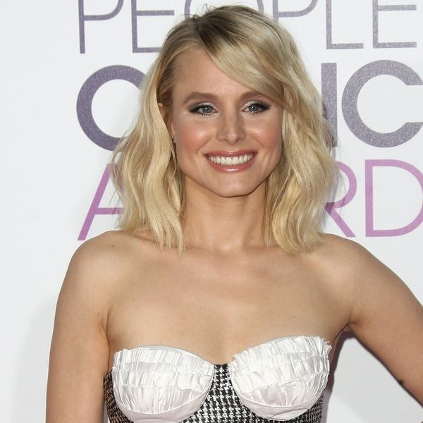 Kristen Bell's People's Choice Awards Outfit Is an Accidental Little Mermaid Tribute