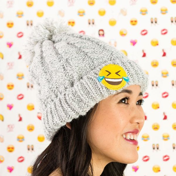 Turn an Old Hat into Something New With a DIY Patch of Your Favorite New Emoji