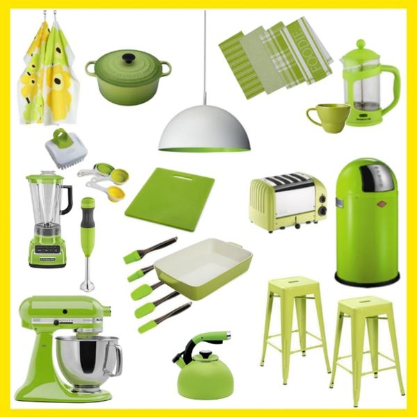 18 Kitchen Accessories That Will Inject a Pop of Pantone *Greenery* into Your Home