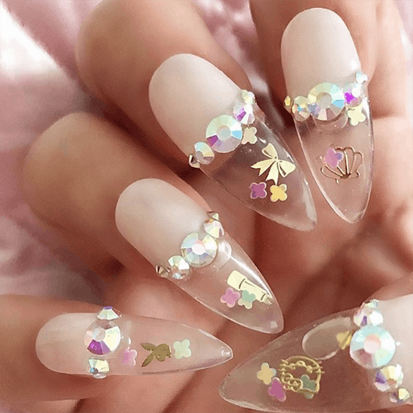 We're Not Sure Why — But Aquarium Nails Are Officially a Thing