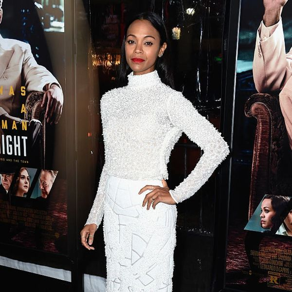 Zoe Saldana Just Accused Hollywood of Bullying Donald Trump and People Are Mad AF