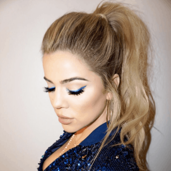 Copy Khloe Kardashian's Lowkey Disco Eyeliner This Weekend