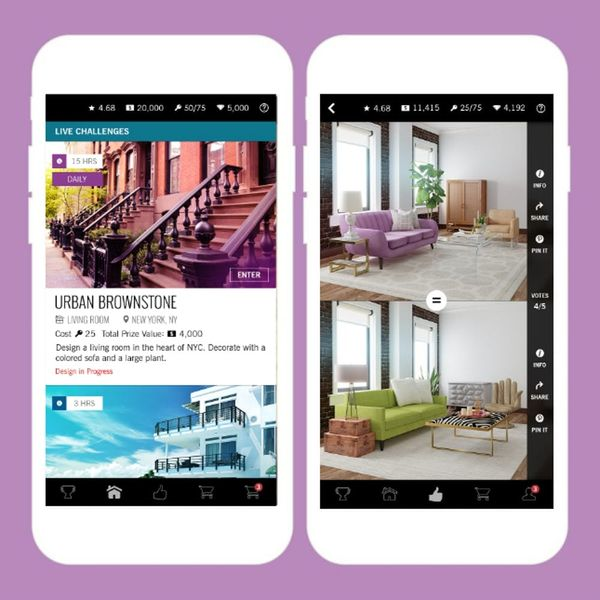 This New App Lets You Play (and Compete) to Design Your Own Home