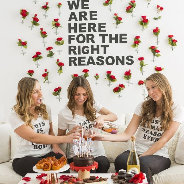 3 DIYs to Make for the Most Dramatic Bachelor Viewing Party Ever